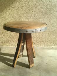 furniture made from wine barrels. I Was Asked To Make A Prototype Side Table Out Of Wine Barrel Parts For Local Winery Tasting Room. The Design Came Up With This Made From Furniture Barrels