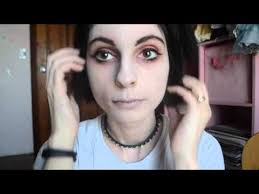 you to get the look pale sick and dead double vision face makeup jpg how