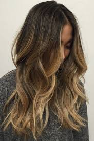 Dark Brown Hair With Caramel Blonde