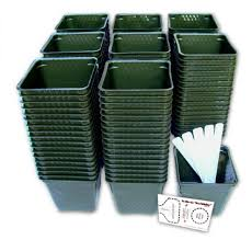 Get Quotations  Set of 150 Plastic Nursery Plant Pots Seed Shaker Card and  5 Plant Labels. Color