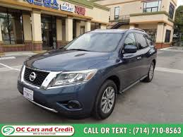 used 2016 nissan pathfinder in garden grove california oc cars and credit garden