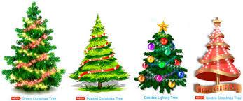 Free Decorated Desktop Christmas Tree