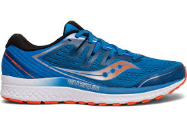 Saucony Pronation Chart Saucony Guide Iso 2 Running Shoes Blue Orange