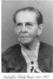 Barbara Ellen Wright (Aldridge) (1864 - 1953) - Genealogy