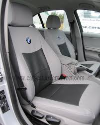 bmw 3 series car seat covers e90 grey and black leatherette