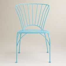 blue cadiz stacking chair set of 2