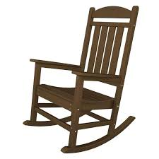 black wooden rocking chairs