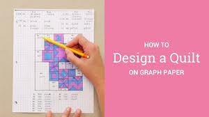 how to design a quilt on graph paper how to design a quilt on graph paper youtube