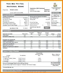 Statement Template Best Collection Credit Card Excel Format Hdfc