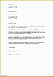 Resignation Letter Samples With Reason Resignation Letter Personal Reasons Immediate Resignation