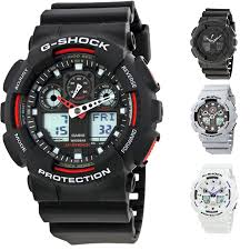 men s watches casio g shock resin strap mens watch