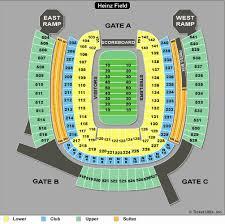 59 Specific Heinz Field Seat Chart