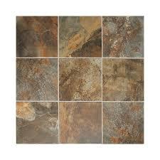 american olean kendal slate 15 pack carlisle black porcelain floor and wall tile common