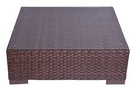 wicker coffee table brown or grey with tempered glass top print web final programacion print