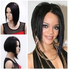 Wonder Woman Hair Style new 2014 free shipping 100 kanekalon black straight womens wig 2545 by wearticles.com