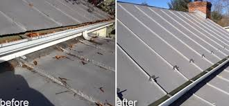 metal roof ore after