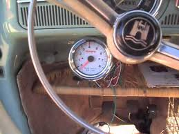 tachcometer installation part 1 64 vw bug tachcometer installation part 1 64 vw bug