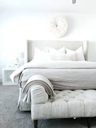 ... Full size of White Tufted Bed Bench Emily Henderson End Of Bed Bench  Roundup King And