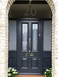 clear glass front door. Modren Front Victorian Front Door With Sidelights And Satin Glass Clear Pin Stripe Intended Clear Glass H