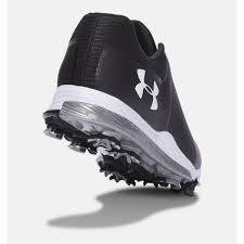 under armour womens shoes. under armour ua tempo sport golf shoe - black womens shoes