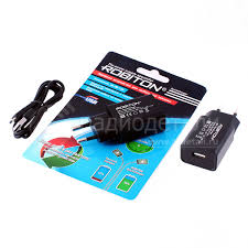 <b>Зарядное устройство</b> 5/<b>9</b>/12V, 2/1,67/1,25A Robiton QuickCharger ...