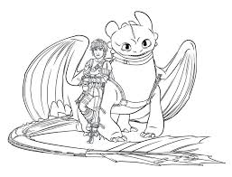 Small Picture How to train your dragon coloring pages hiccup and toothless