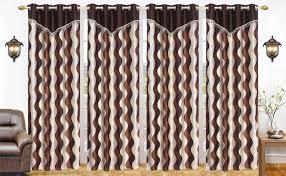 Designer Curtains Flipkart Elite Dekor 212 Cm 7 Ft Polyester Door Curtain Pack Of 4