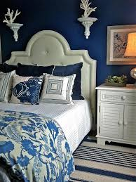 Navy And White Bedroom Home Decorating Ideas Home Decorating Ideas Thearmchairs