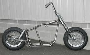 krafttech swingarm frame shovelhead panhead rolling chassis roller