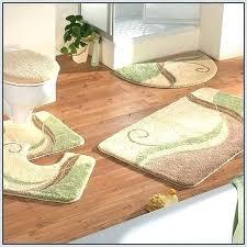 fabulous 3 piece bath rug set memory foam bathroom rug set full size of rug sets