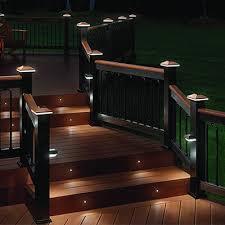 Deck lighting Half Moon Decklightinghometops Deck Lighting Deck Depot Deck Lighting And Exterior Home Light Systems Zuern Building Products