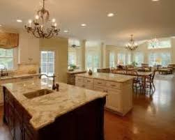 Open Living Room Decorating Ideas For Kitchen   Carameloffers