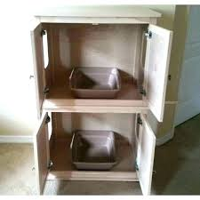 pet brown nightstand cat house and litter box cover designer indoor wooden