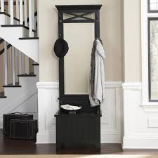 Mirror With Coat Rack Entryway Bench With Coat Rack And Shoe Storage Be Equipped Front 78