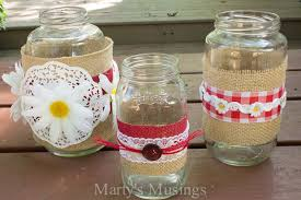 How To Decorate A Jar Thrifty Mason Jar Crafts 66