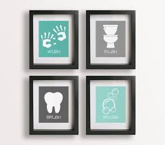 bathroom wall decor pictures. Brilliant Wall Wonderful Wall Decor Bathroom Kids Handprints Craft  Ideas Pinterest To Pictures S