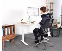 standing office table. Quick And Quiet Adjustment From Sitting To Standing - Ample Knee Clearance For Usder Comfort(no Low Cross Bars) Programmable Digital Control With Three Office Table