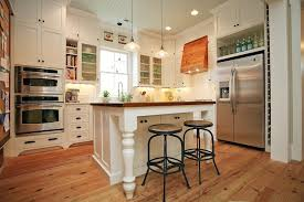 Source: Old New Vintage Kitchen With Ceiling Height White Cabinets Accented  With Oil Rubbed