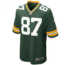 Jordy Nelson Game Home Jersey 87