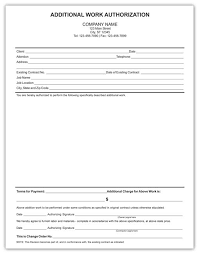 8 Best Photos Of Extra Work Authorization Form Additional