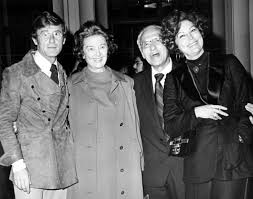 Roddy McDowall, Myrna Loy, George Cukor and Ava Gardner at the opening of a  Cukor retrospective at the Los Angeles Cou… | Classic film stars, Movie  stars, Myrna loy