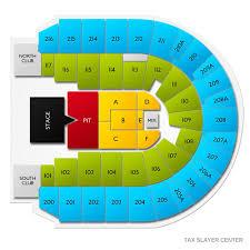 Taxslayer Center Moline Il Seating Chart Jason Aldean Moline Tickets 2 13 2020 Vivid Seats