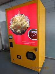 Vending Machine In Chinese Amazing Chinese Company Launches French Fries Vending Machine Food