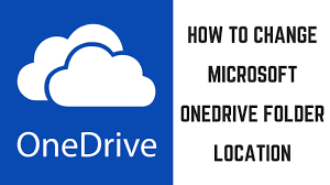 What Is Ms Onedrive How To Change Microsoft Onedrive Folder Location Youtube