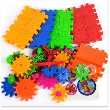 Đồ chơi ghép hình trẻ em thông minh 𝑭𝑹𝑬𝑬𝑺𝑯𝑰𝑷 Bộ ghép 81 miếng điện bánh  răng cho bé 9630 giá cạnh tranh