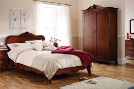 what color is mahogany furniture. bedroom with neutral shades wall and mahogany furniture what color is