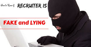 16 To Lying Tips Know Is If How Wisestep - Fake Recruiter And