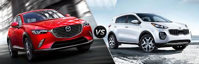 2019 Mazda Cx 3 Vs 2019 Kia Sportage
