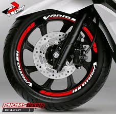 fen cutting sticker aksesoris motor stiker velg new honda vario the new concept