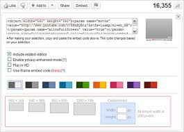 youtube video image size embedding youtube videos opencms knowledge base